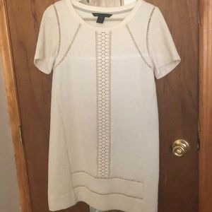 Marc by Marc Jacobs white/cream shift dress